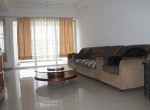 Living Room of 3BHK Flat in Life Republic