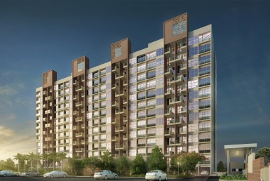 1BHK Building Elevation
