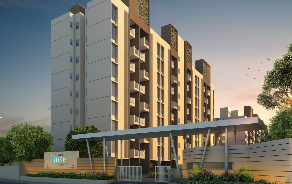 2BHK Flat in hinjewadi at 46 Lacs