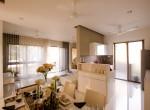 Living Dining & Kitchen of 2BHk and 3BHK flat Runal Gateway at Ravet