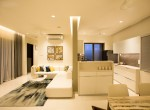 Living & Kitchen of 2BHk and 3BHK flat Runal Gateway at Ravet