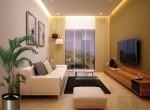 1 BHK Ensaar Nagpur Living Room