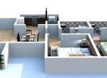 Megapolis 2BHk resale flat plan