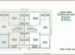 First Floor Plan 4BHK Villa R2 Sector Life Republic Hinjewadi