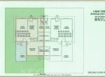 Ground Floor Plan 4BHK Villa R2 Sector Life Republic Hinjewadi