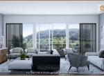 Sobha Nesara Bavdhan 3 BHK Luxry flats Living Room